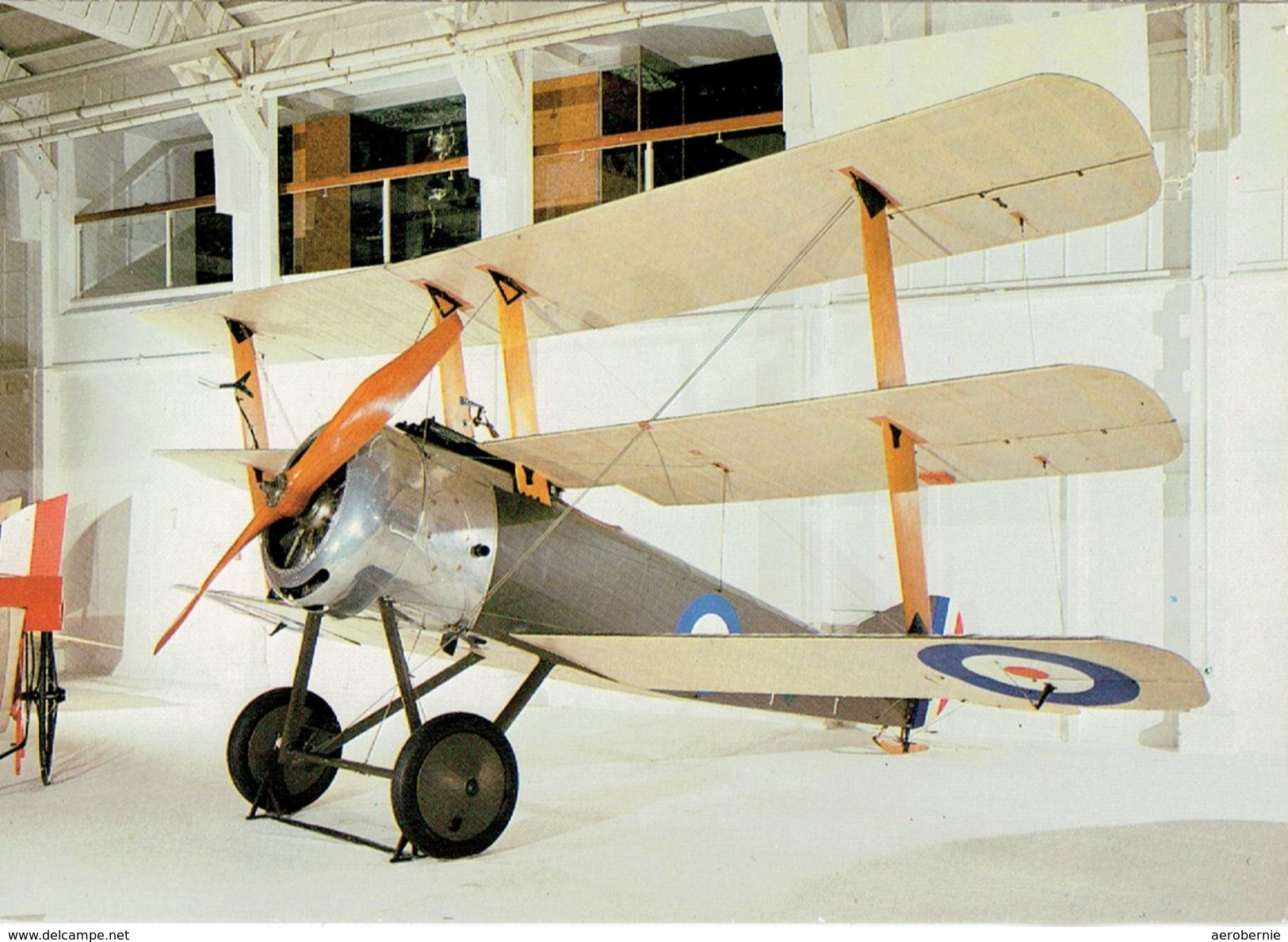 SOPWITH Triplane - Royal Air Force (1916) (im Museum - Modern Card) - 1914-1918: 1. Weltkrieg