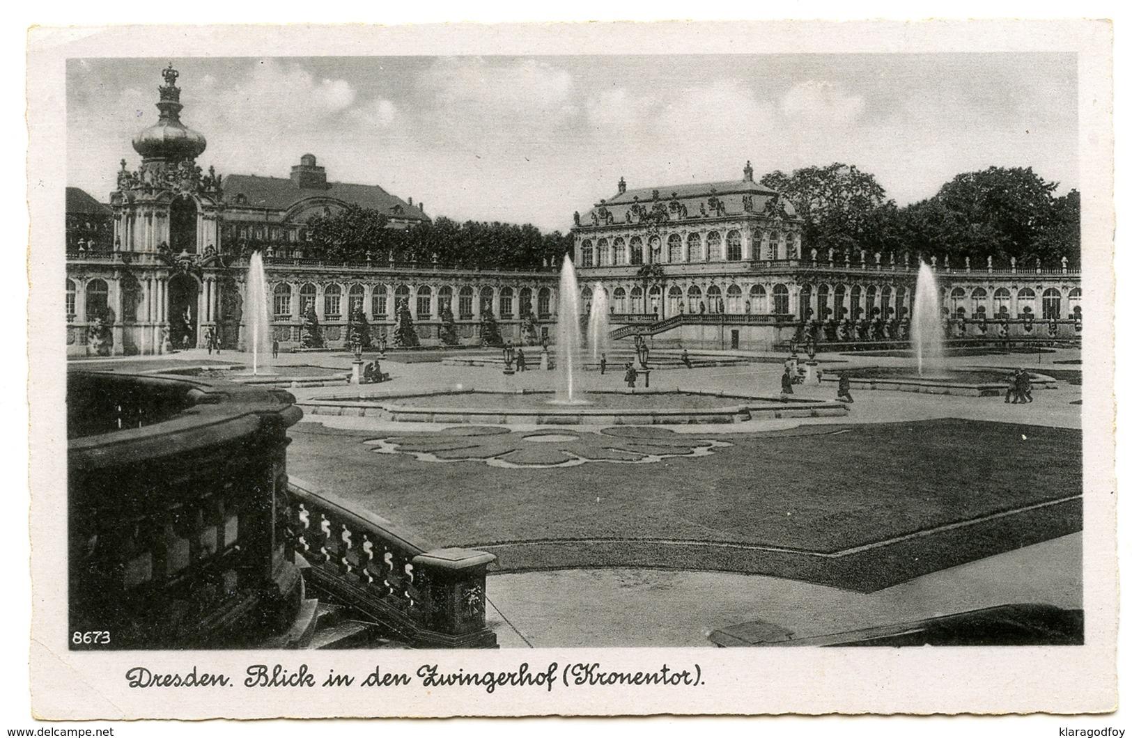 Reich, Postgut Ermäßigte Gebühr Zustellung Slogan Postmark On Old Postcard Dresden Travelled 1942 B170620 - Alemania