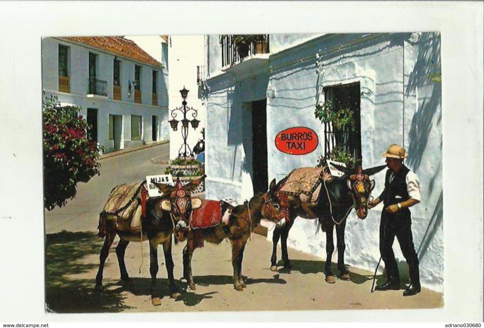 138775 ESPANA   SPAGNA BURROS TAXI - Taxi & Carrozzelle