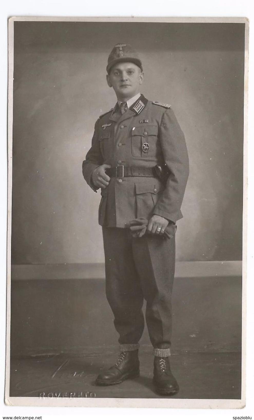 Rovereto (Tn) 1945, Ufficiale Di Fanteria Wehrmacht. - Uniformi