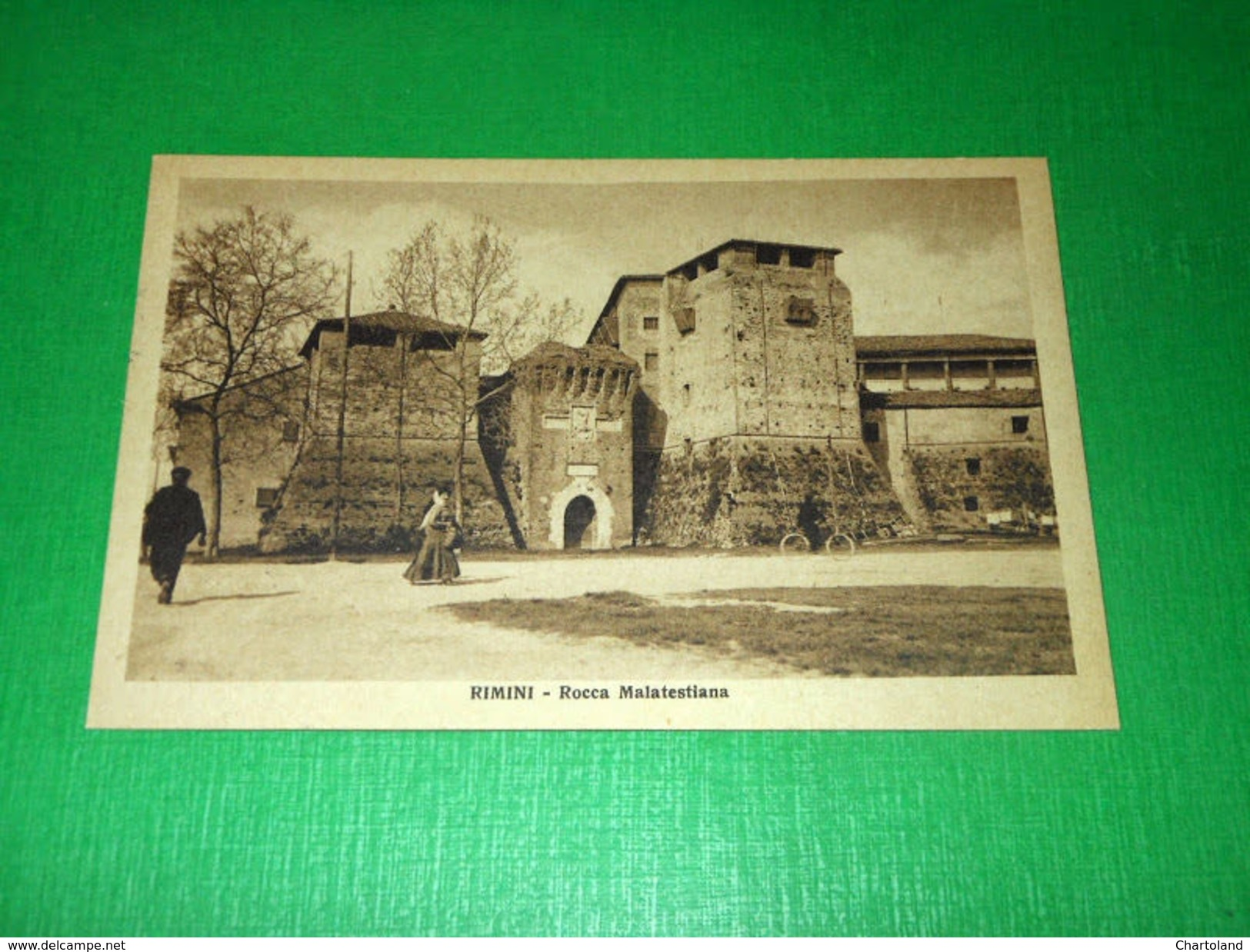 Cartolina Rimini - Racca Malatestiana 1925 Ca - Rimini