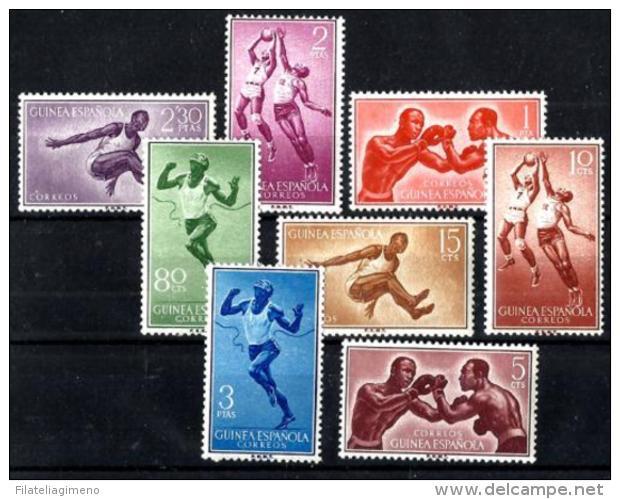 Guinea Nº 376/83 En Nuevo - Spanish Guinea