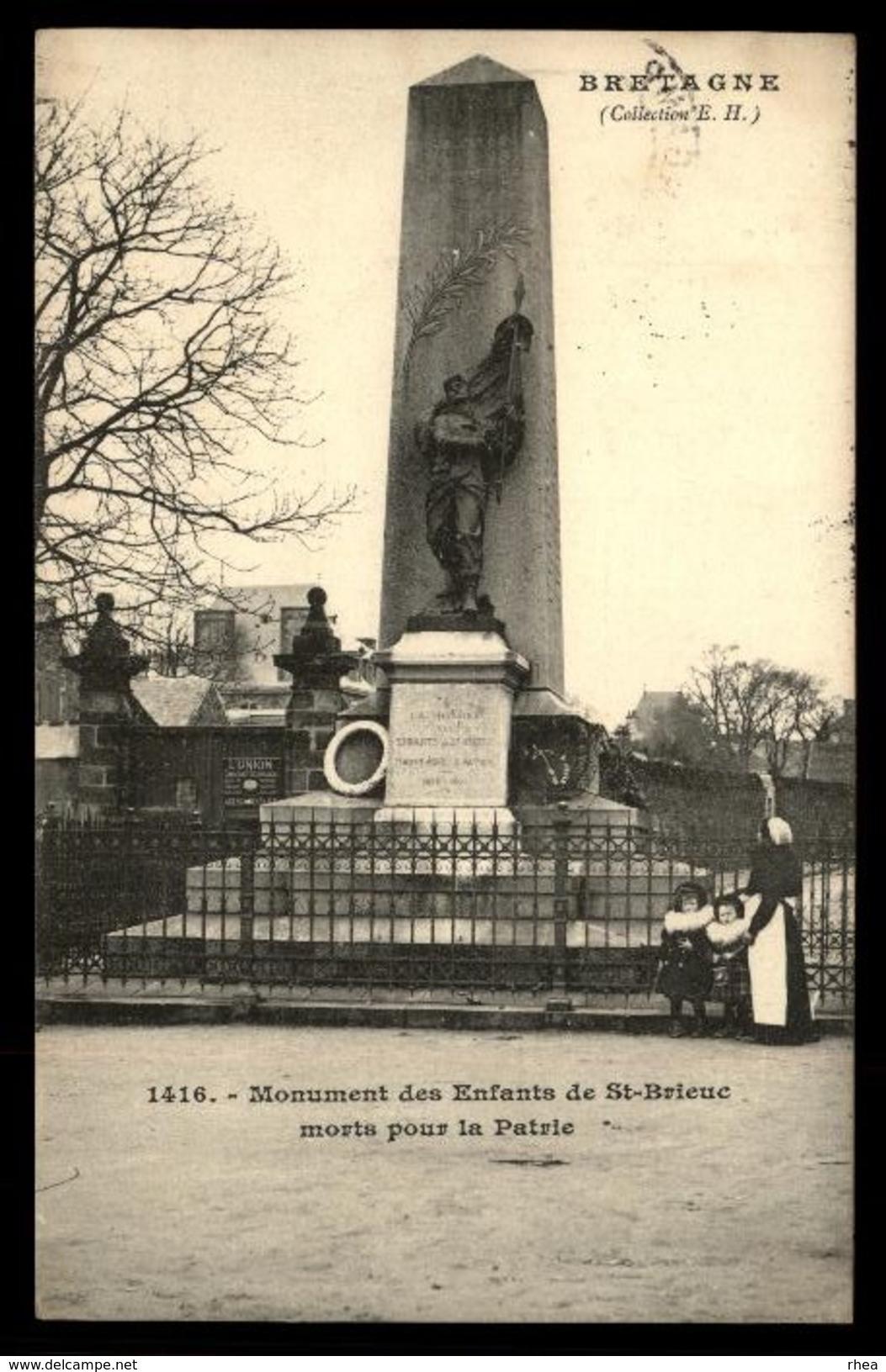 22 - SAINT-BRIEUC - Monument Aux Morts - Saint-Brieuc