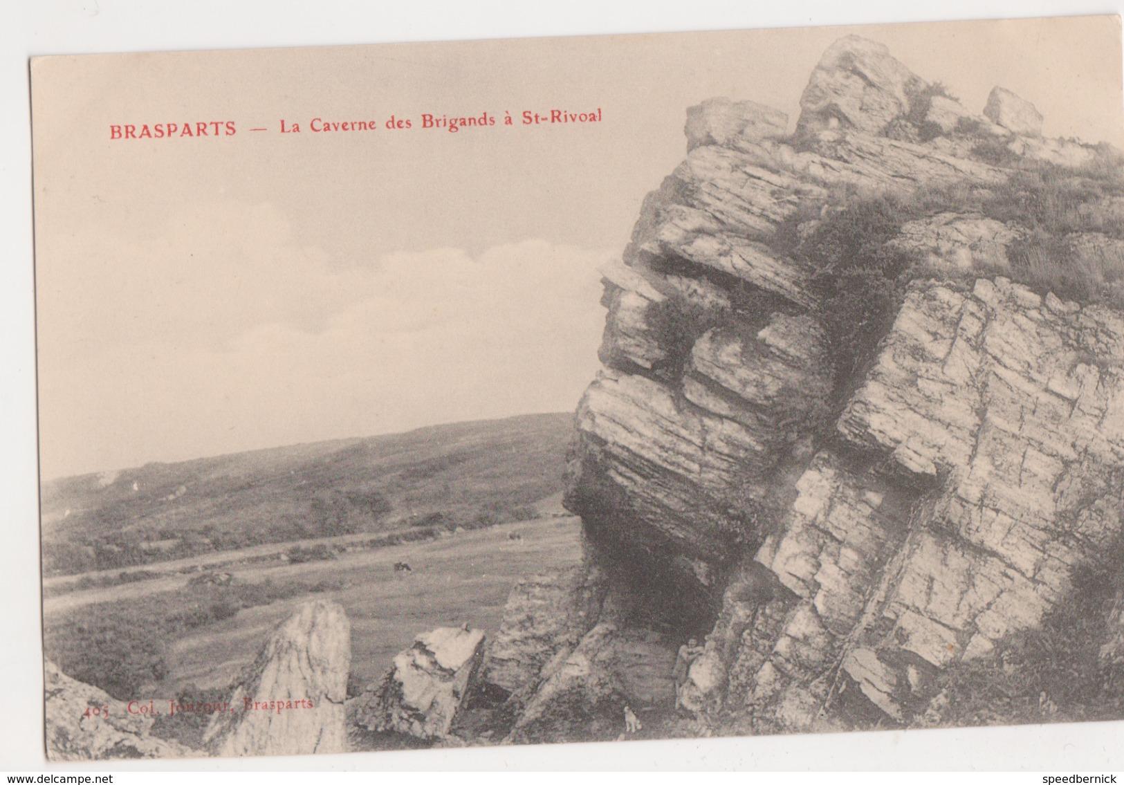 26280 BRASPARTS Caverne Brigands à Saint St Rivoal -Ed Joncour N° 405 Brasparts - Roger - France