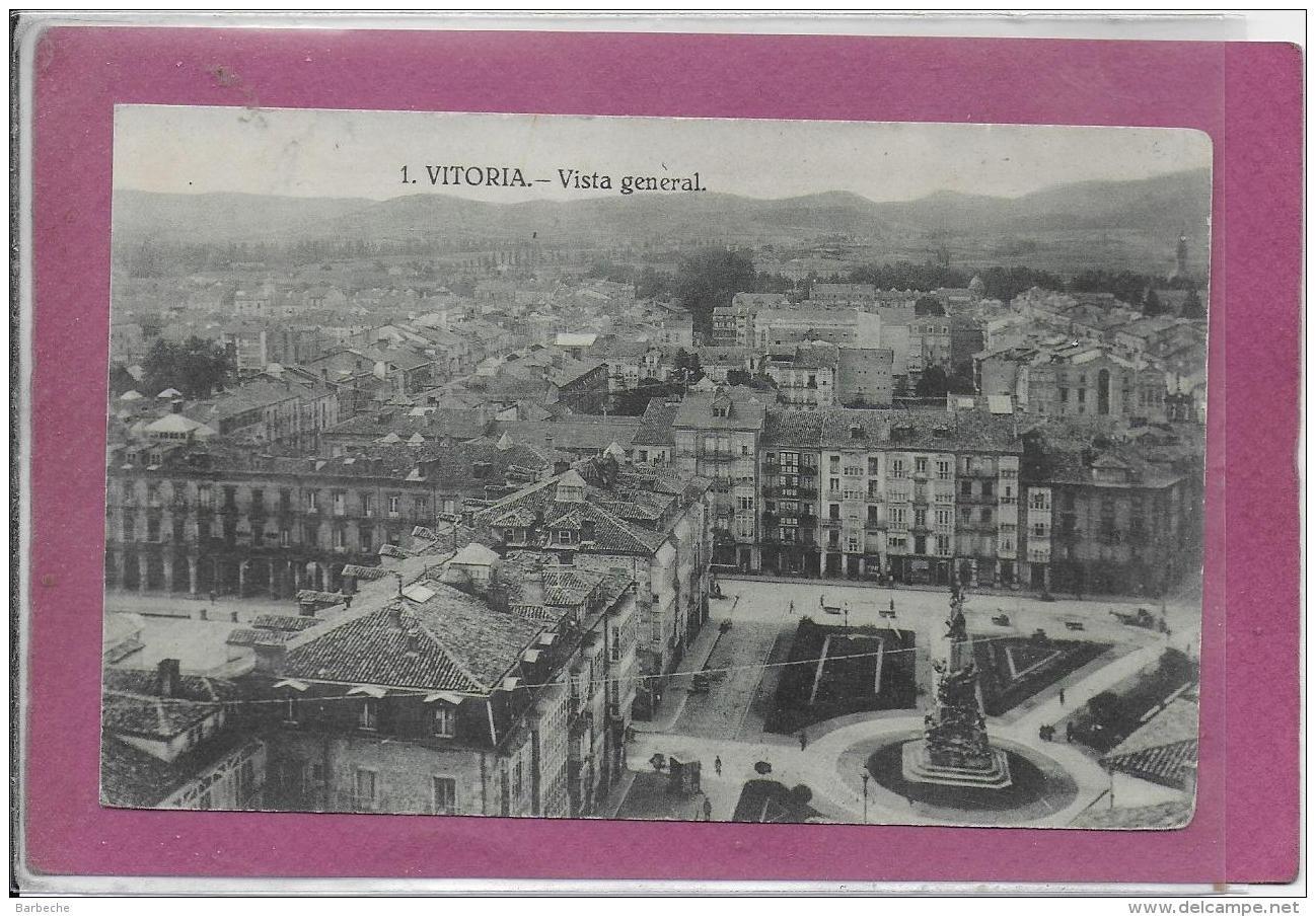 VITORIA .- Vista General - Guipúzcoa (San Sebastián)