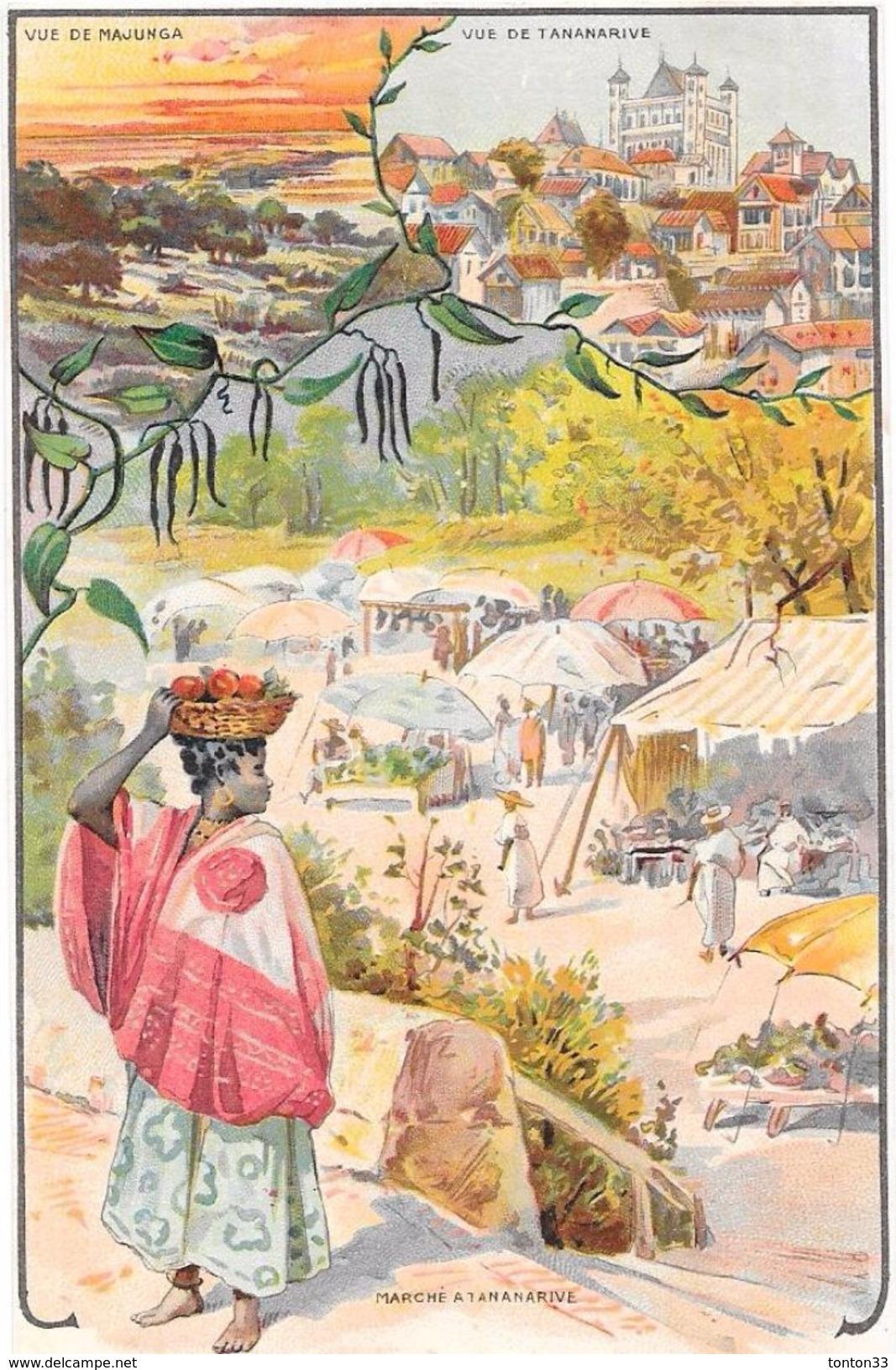 ANGERS - 49 - PUB BELLE JARDINIERE Succursale D'ANGERS - Nos Colonies Madagascar - ENCH2906/321 - - Angers