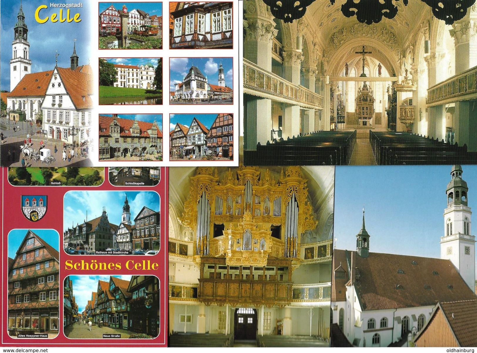 4160h: 5 AKs Celle From Bucharest, Ungelaufen - Celle