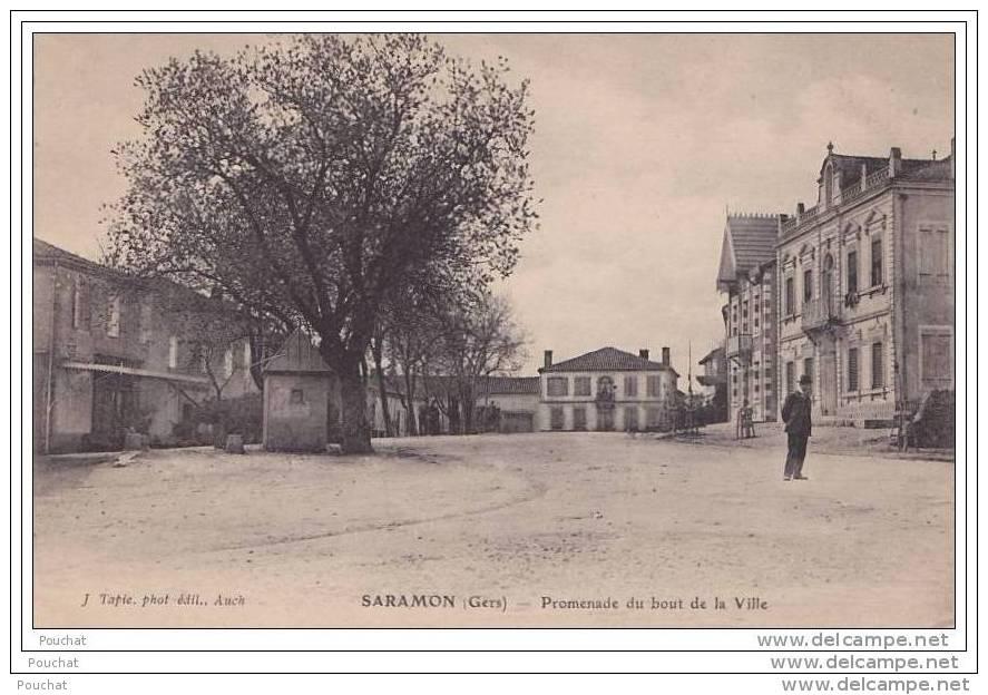 32) Saramon.- (Gers) Promenade Du Bout De La Ville - France