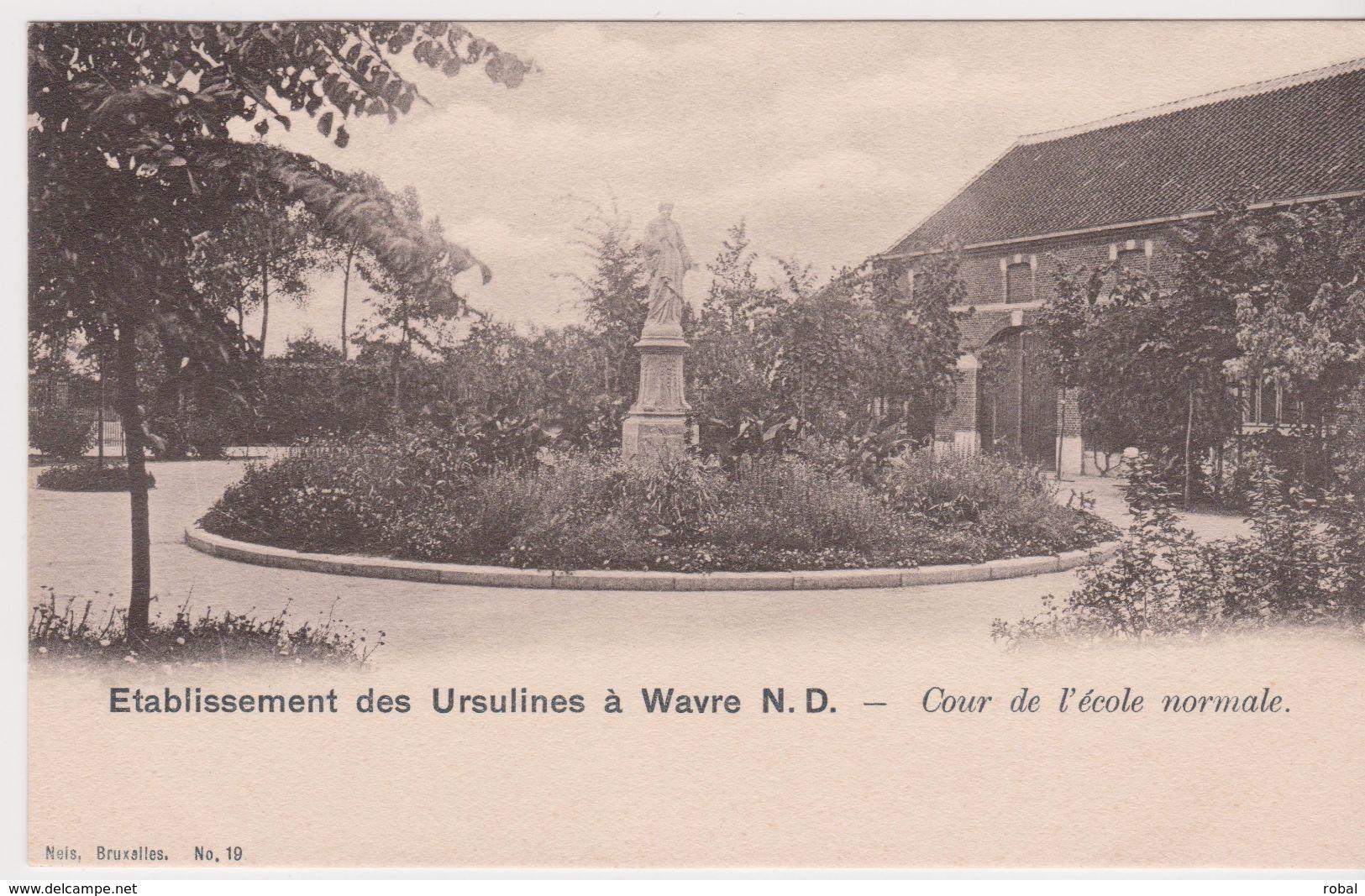 Sint Katelijne Waver Onze Lieve Vrouw Waver Ursulinenschool Cour De L'école Normale - Sint-Katelijne-Waver