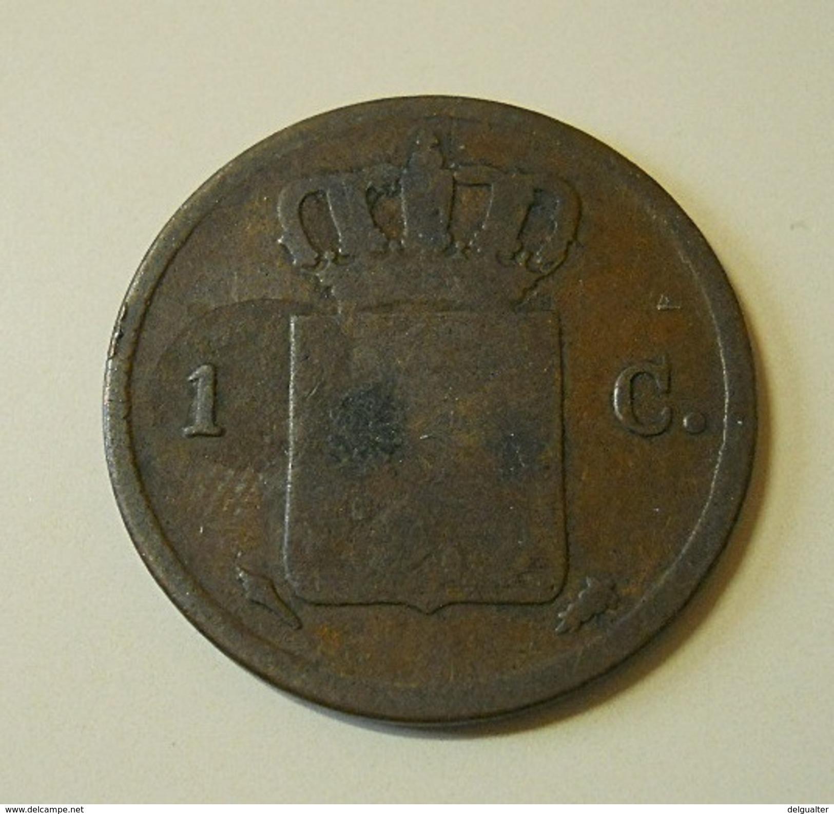 Netherlands 1 Cent 1837 - [ 3] 1815-… : Regno Dei Paesi Bassi