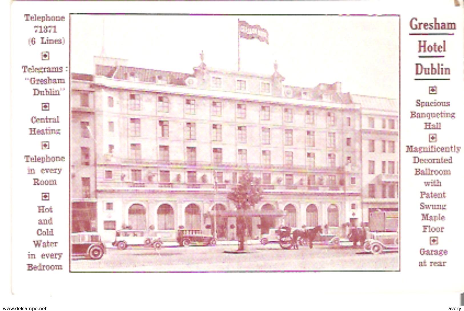 Gresham Hotel, Dublin, Ireland - Dublin
