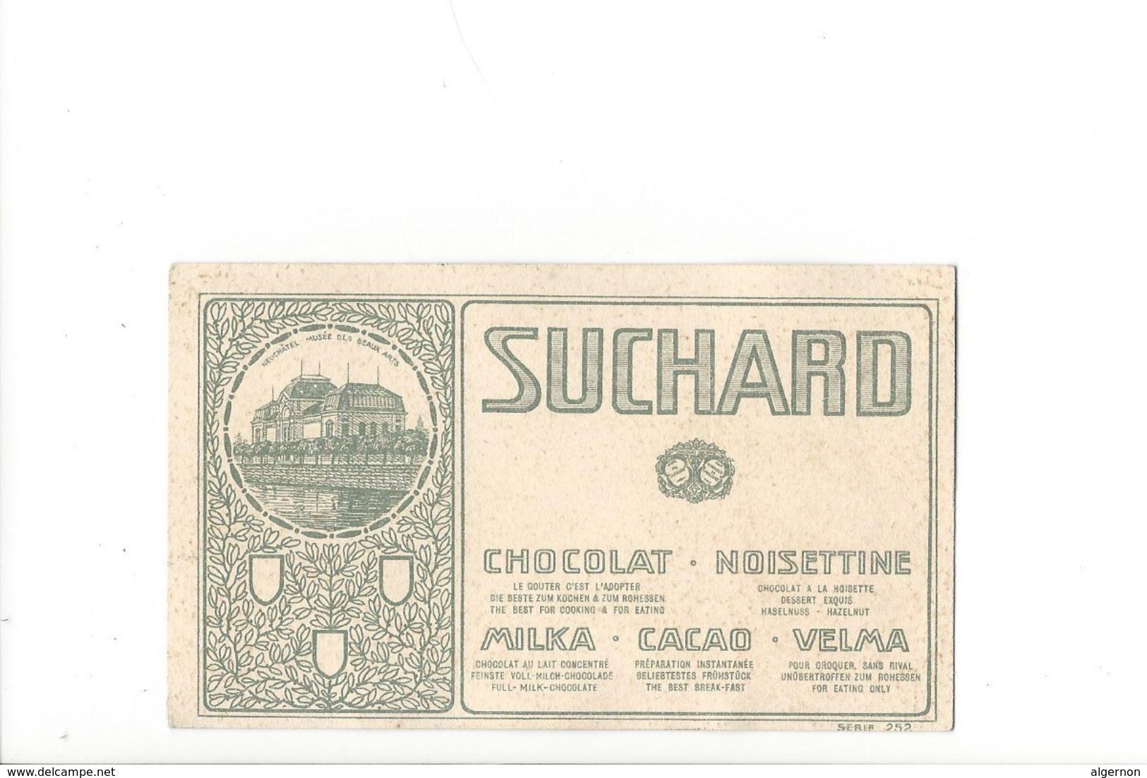 V3 - Noisettine Suchard Musée De Neuchâtel - Suchard