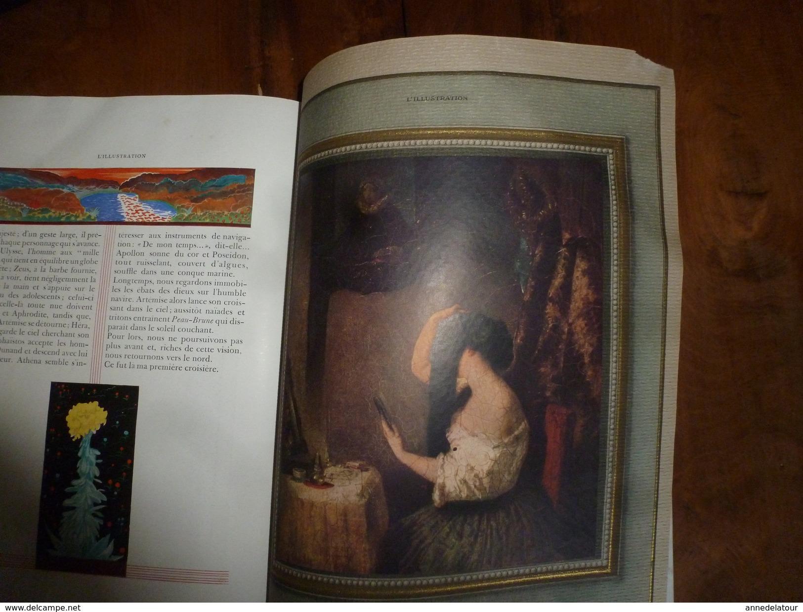 1930 SPECIAL  NOËL   L'ILLUSTRATION: Evolution Artistique De La Reliure; Nombreuses Publicités Pleine Page,dont Couleurs - Journaux - Quotidiens