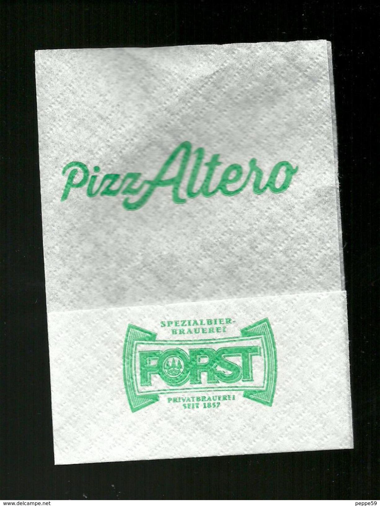 Tovagliolino Da Caffè - Pizzeria PizzAltero ( Bologna ) - Tovaglioli Bar-caffè-ristoranti