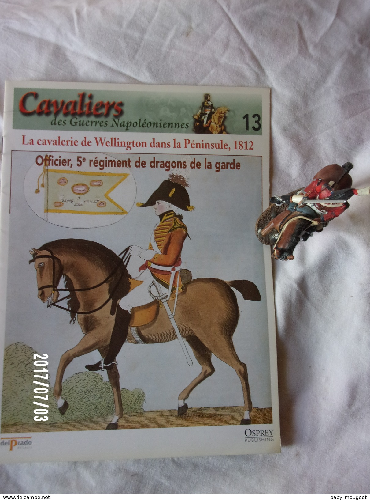 5e Dragoon Guards 1812 - Militaires