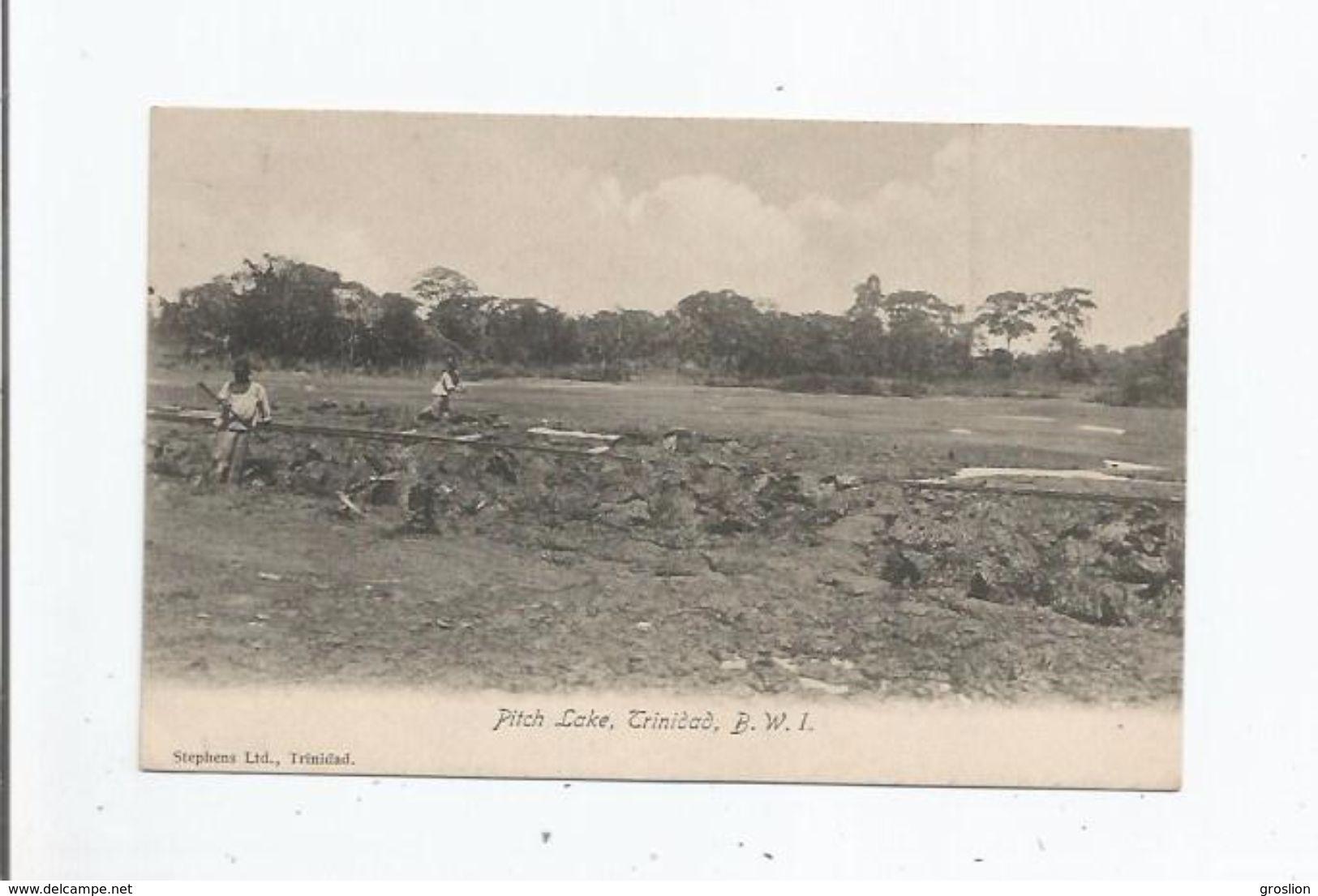 TRINIDAD (TRINITE ET TOBAGO) 12 50068 PITCH LAKE B W I - Trinidad