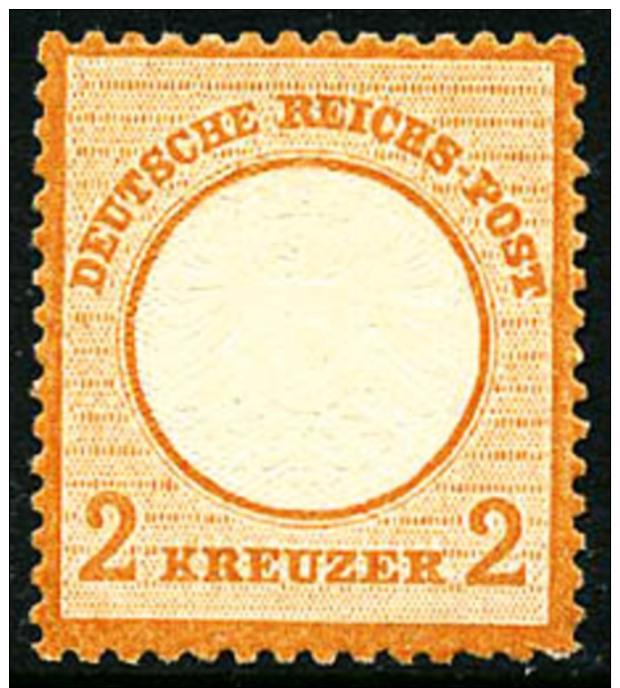N°21, 2 K. Orange, TB - Germany