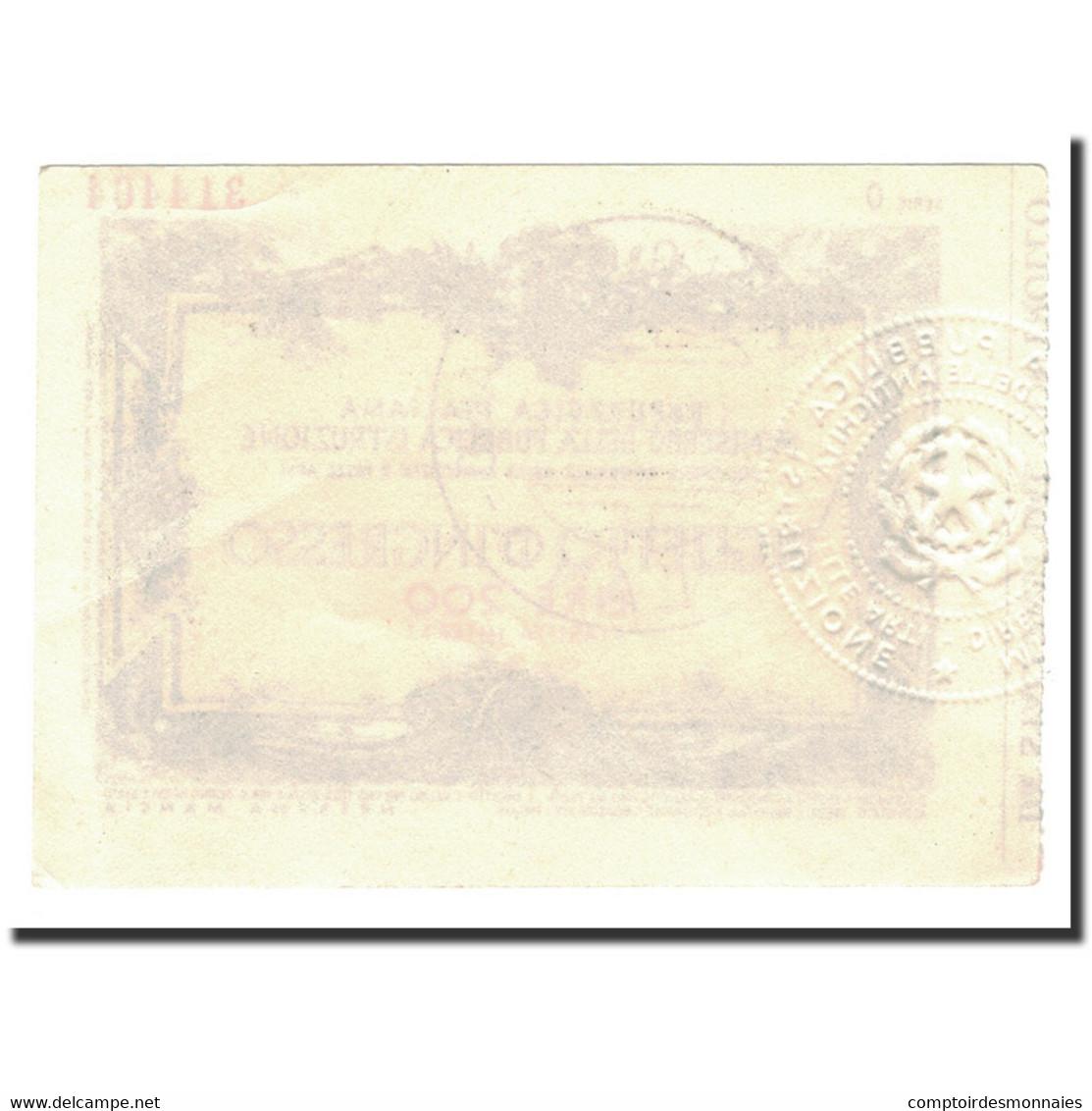 Italie, 200 Lire, NEUF - [ 2] 1946-… : Républic