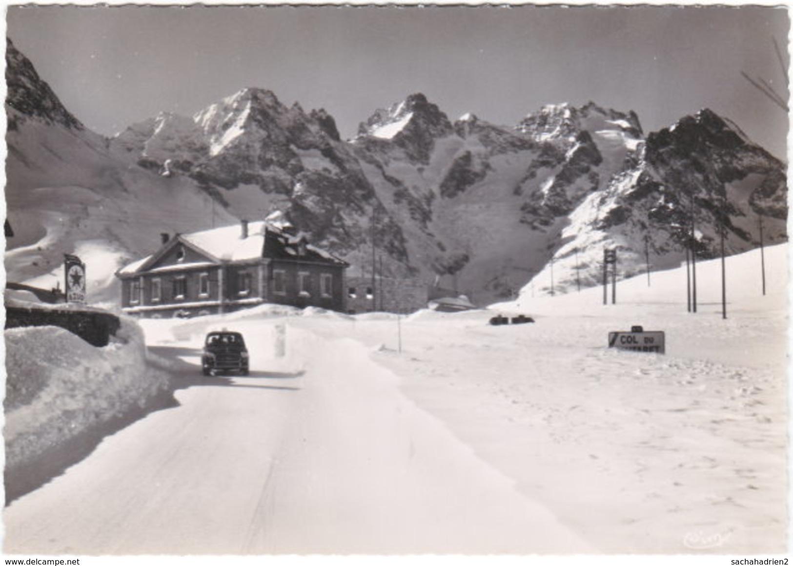 05. Gf. Col Du LAUTARET. La Route En Hiver Et Le Massif De La Meije. 400 - Sonstige Gemeinden