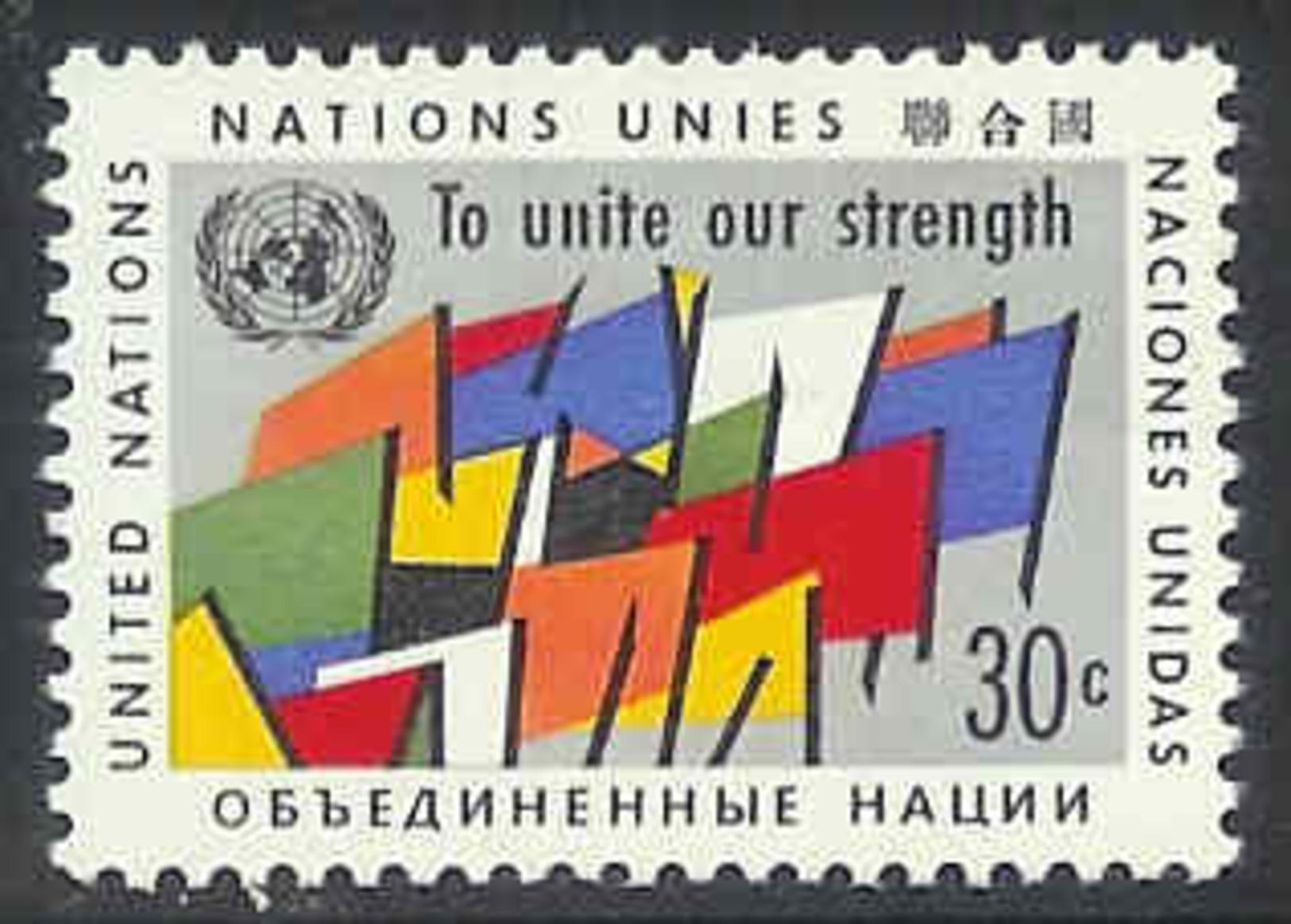 UNO New York 1961 MNH Stamp(s) Def. 30cent #3827 - New York – UN Headquarters
