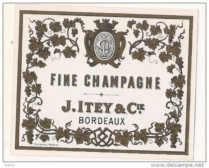 --- 33 ---- Fine Champagne ITEY Bordeaux - 1900/1930 - Whisky