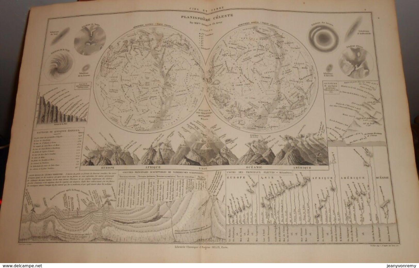 Planisphère Céleste.1874 - Autres