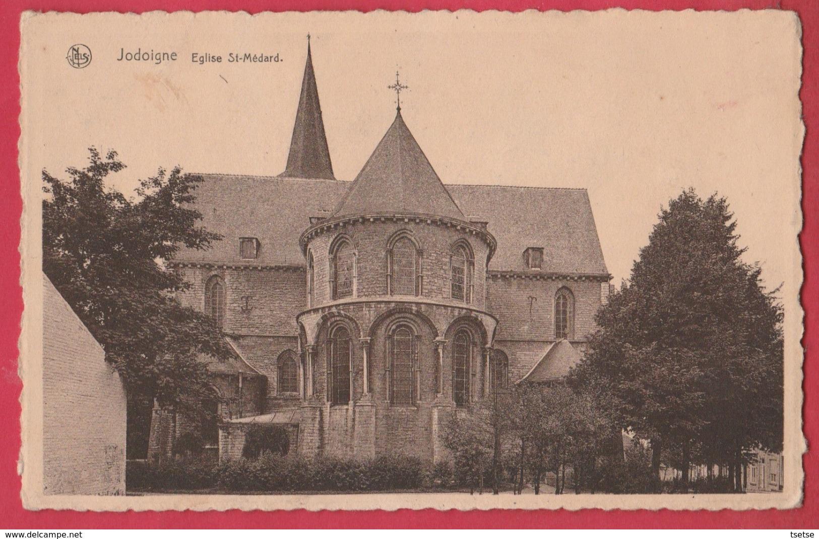 Jodoigne - Eglise St-Médard  ( Voir Verso ) - Jodoigne