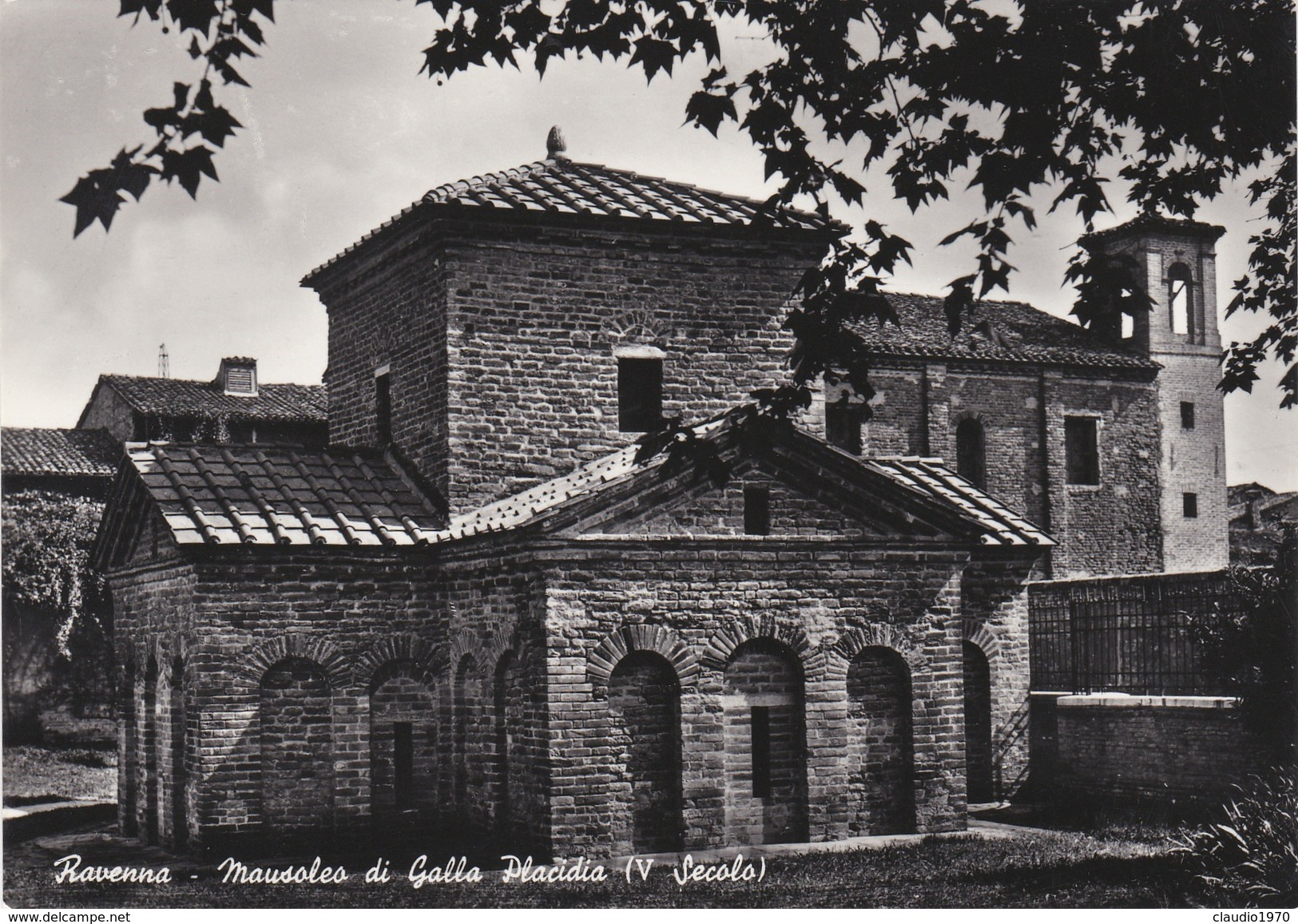 CARTOLINA - POSTCARD - RAVENNA - MAUSOLEO DI GALLA PLACIDIA - V SECOLO - Ravenna