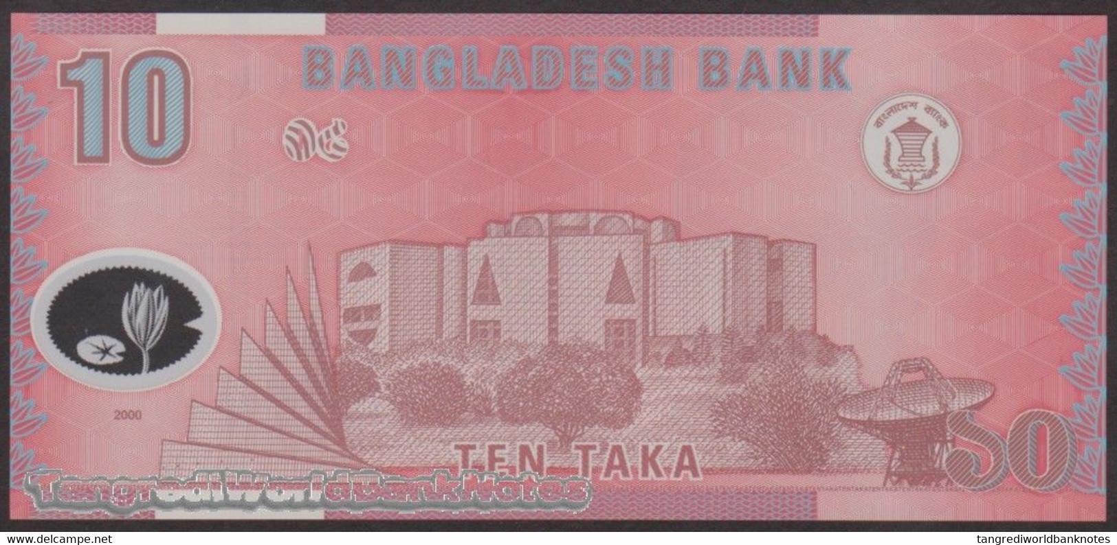 TWN - BANGLADESH 35 - 10 Taka 2000 Polymer - Various Prefixes UNC - Bangladesh