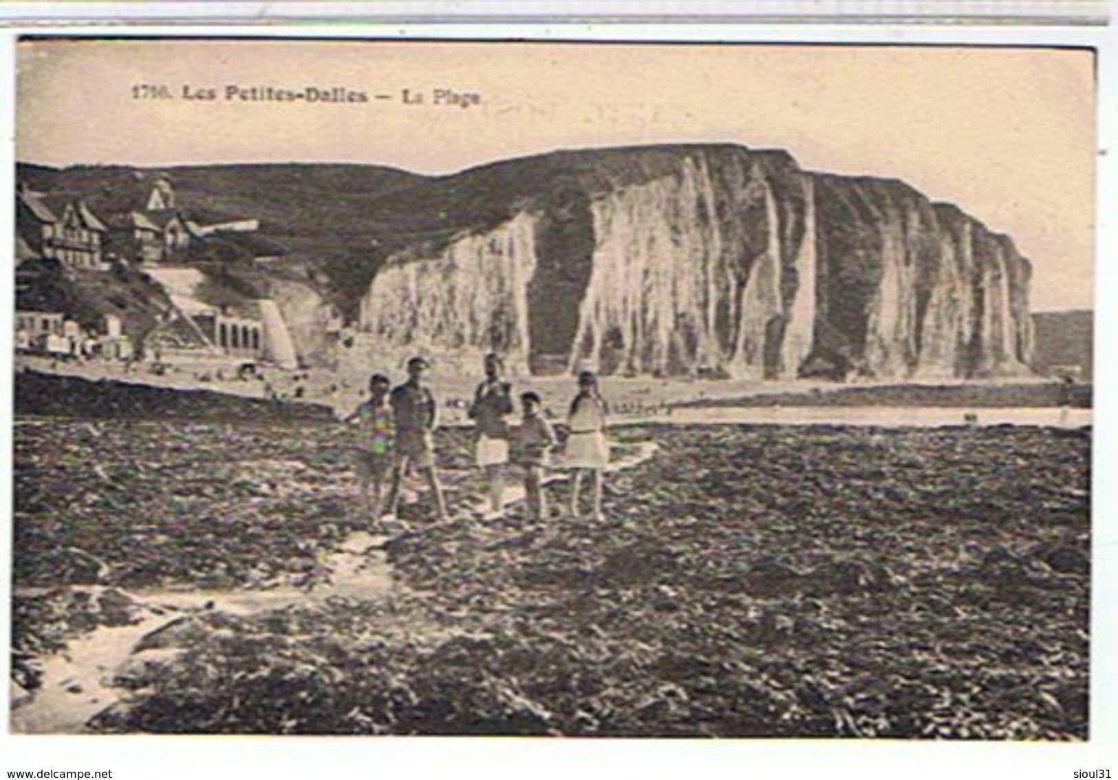 76..LES PETITES  DALLES   LA  PLAGE  + PERSONNAGES  TBE   PP940 - France