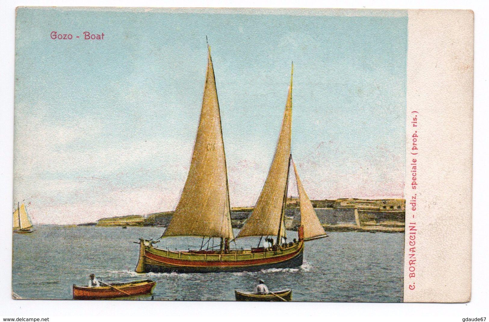 GOZO - BOAT - Malte