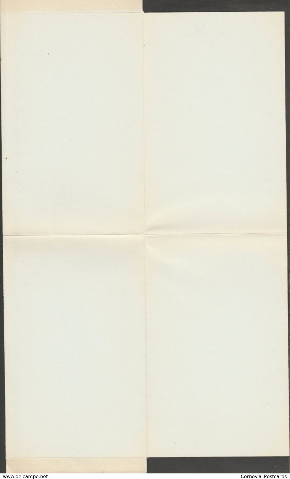 Greetings From The Canadian Rockies, Alberta, Canada, 1958 - Evergreen-Gibbons Lettersheet - Unclassified