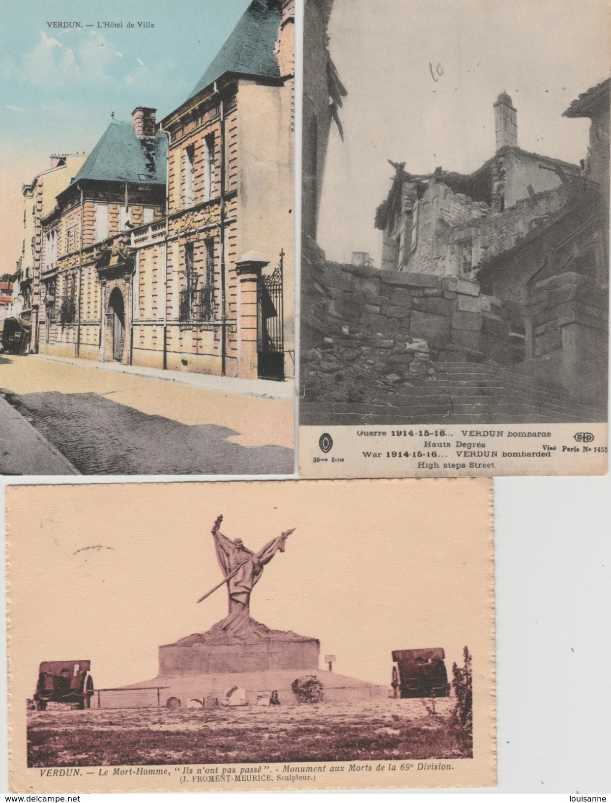 17 / 7 / 83  -  LOT DE  11  CP  DE  VERDUN  - Toutes Scanées - Postcards