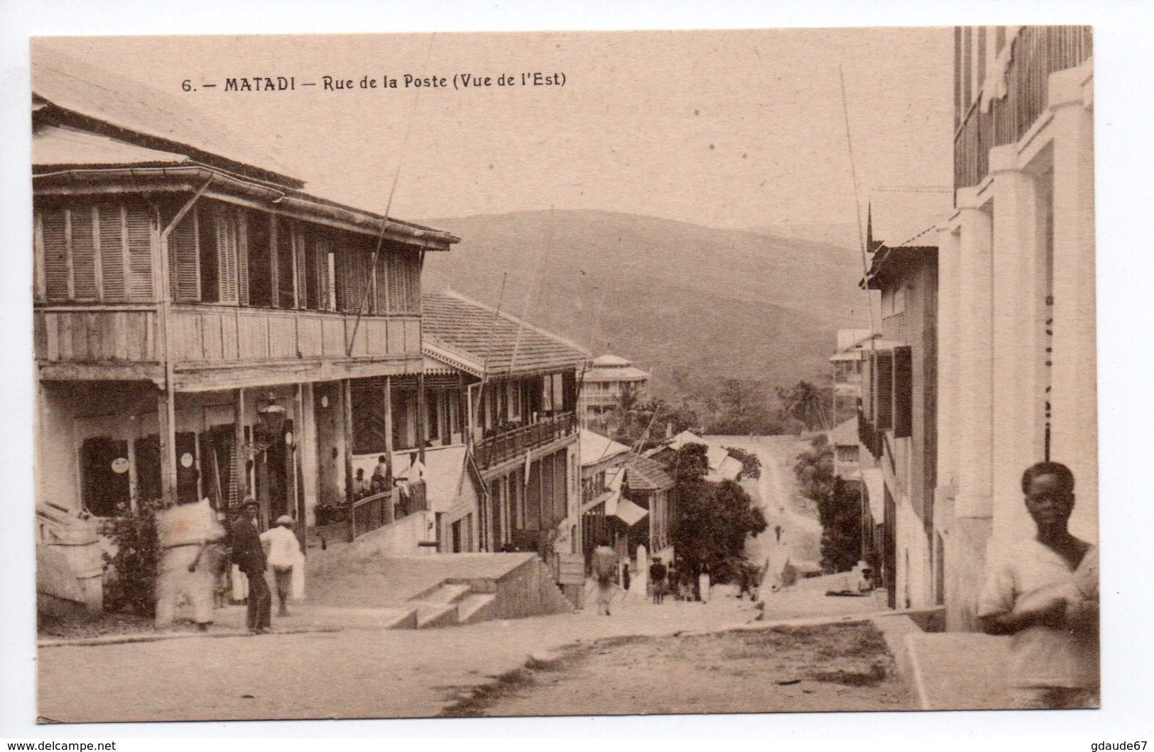 MATADI - RUE DE LA POSTE - Congo - Brazzaville