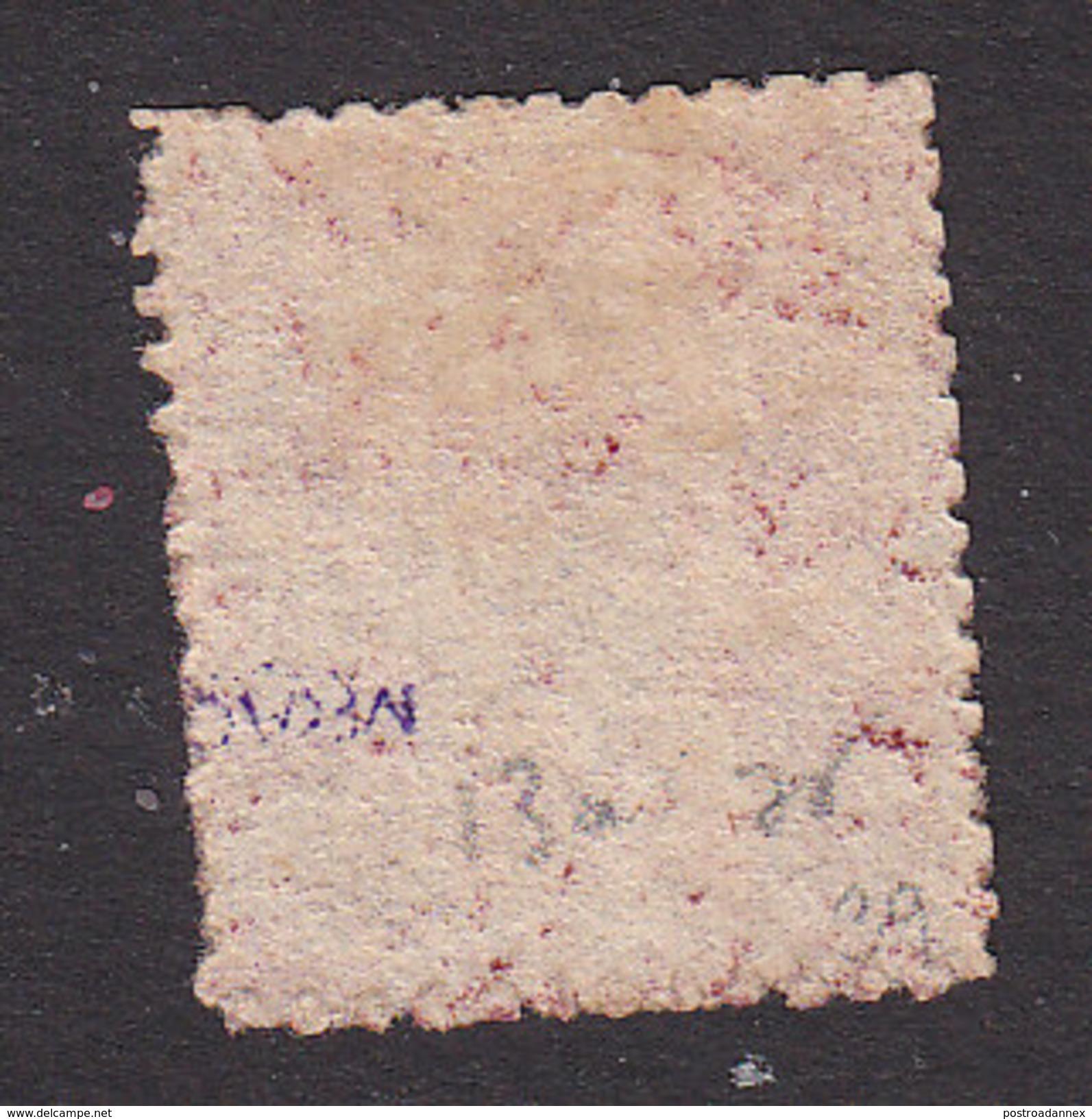 Trinidad, Scott #43, Mint No Gum, Britannia, Issued 1863 - Trinidad & Tobago (...-1961)
