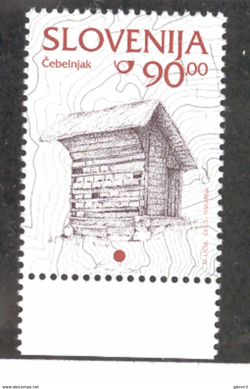 SLOVENIA 1997 Beehive 90t Definitive, Scott Catalogue No. 216 MNH - Slovenia