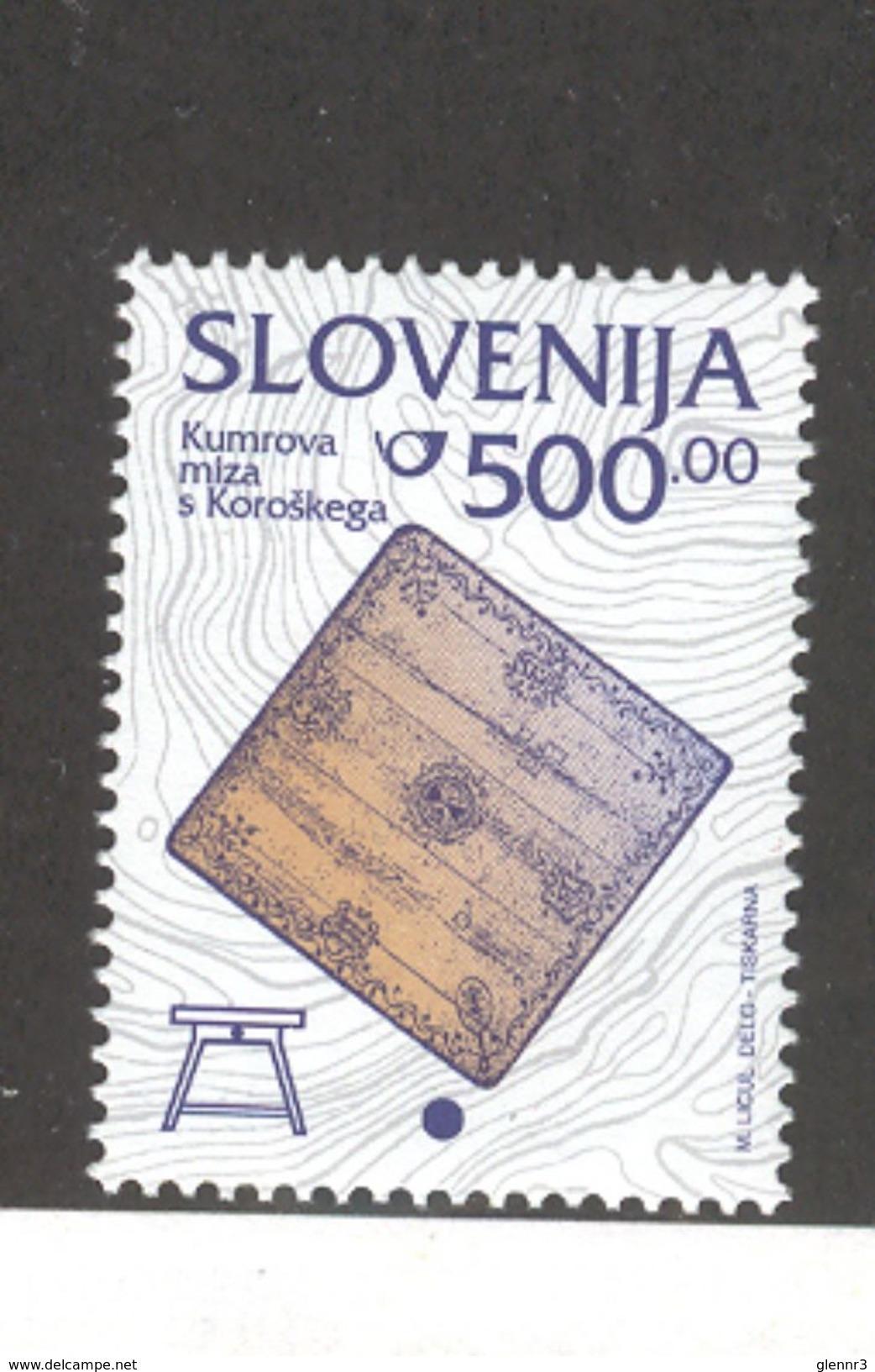SLOVENIA 1998 Kumer Family's Table 500t Definitive, Scott Catalogue No. 220 MNH - Slovenia