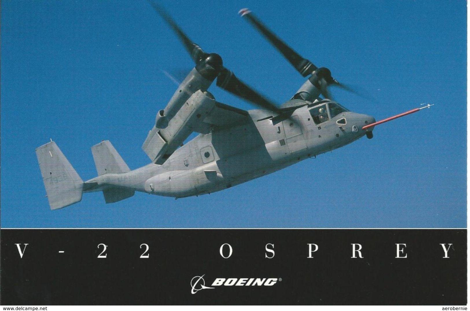 Boeing V-22 Osprey / Boeing Company Card - Hubschrauber