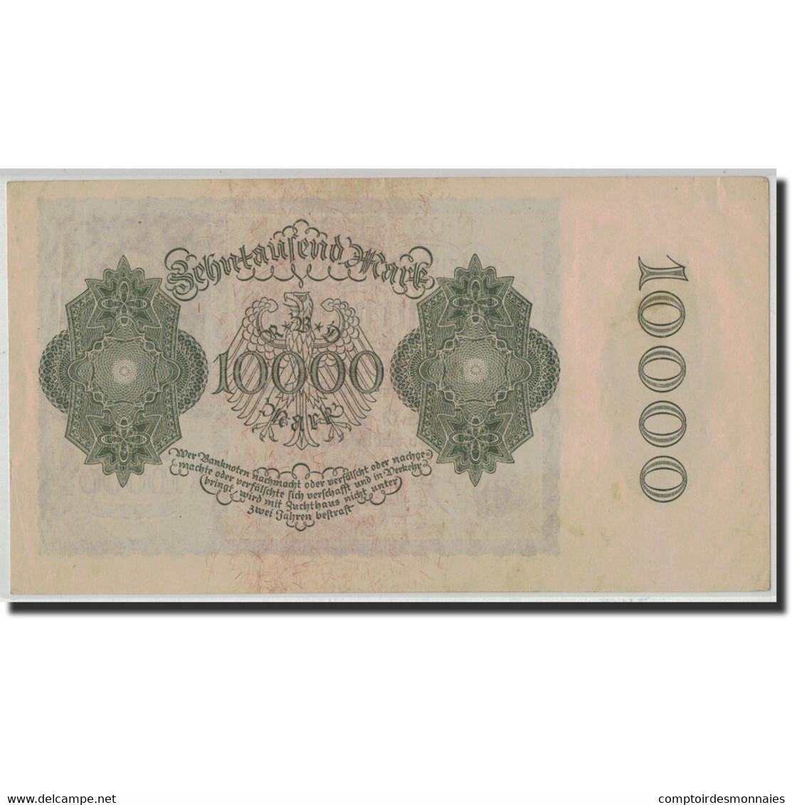 Allemagne, 10,000 Mark, 1922, KM:72, 1922-01-19, SUP+ - [ 3] 1918-1933: Weimarrepubliek