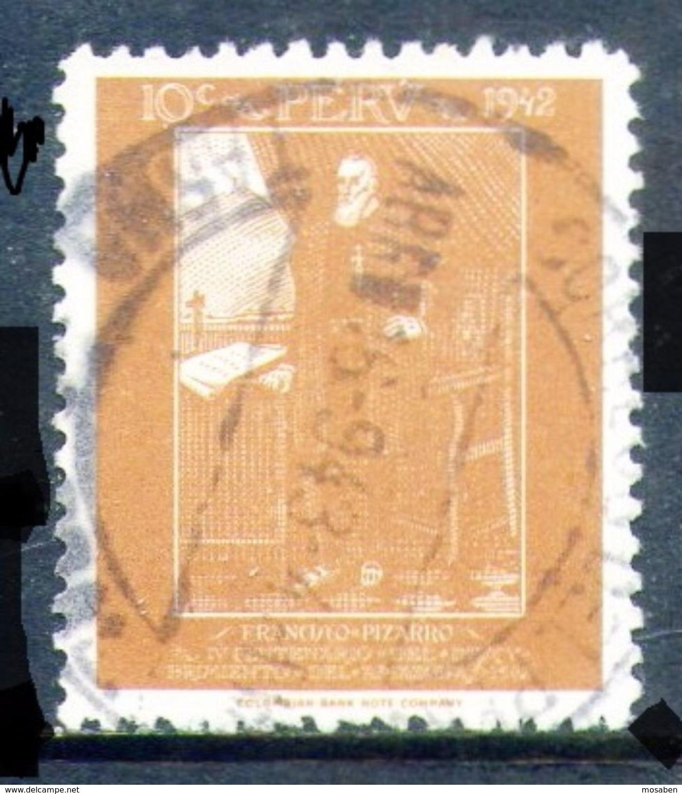 PERÚ-Yv. 377-N-9553 - Peru
