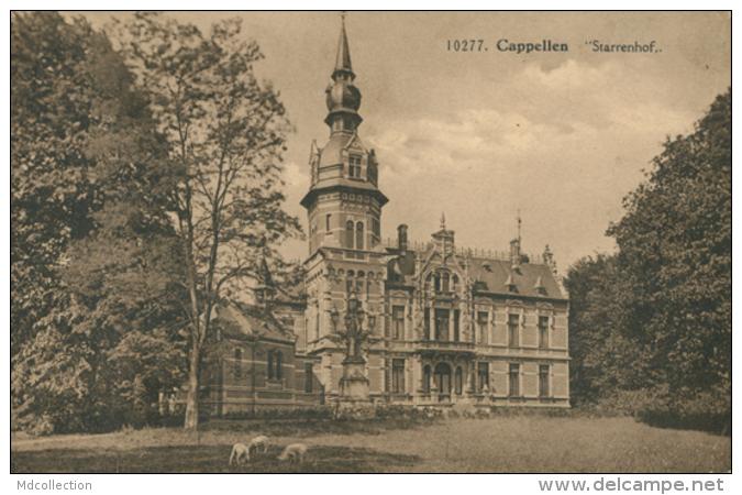 BE  CAPELLEN /  Starrenhof / - Belgique