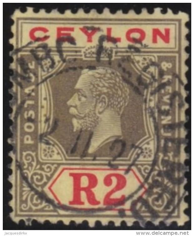 Ceylon     .    SG     .    355          .   O      .   Gebruikt    .    /  .   Cancelled - Ceylon (...-1947)