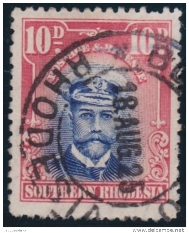 Southern Rhodesia      .    SG     .     9      .       O      .   Gebruikt    .    /  .   Cancelled - Zuid-Rhodesië (...-1964)