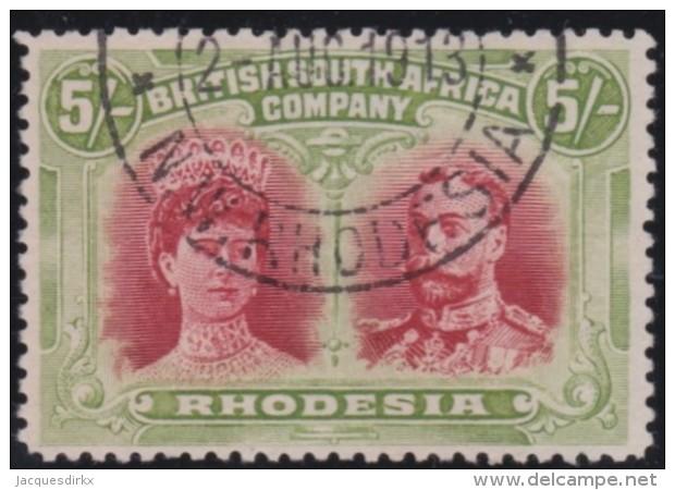 Rhodesia       .    SG     .      160       .       O      .   Gebruikt    .    /  .   Cancelled - Zuid-Rhodesië (...-1964)