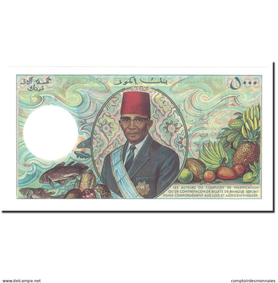 Comoros, 5000 Francs, 1984, KM:12b, NEUF - Comores