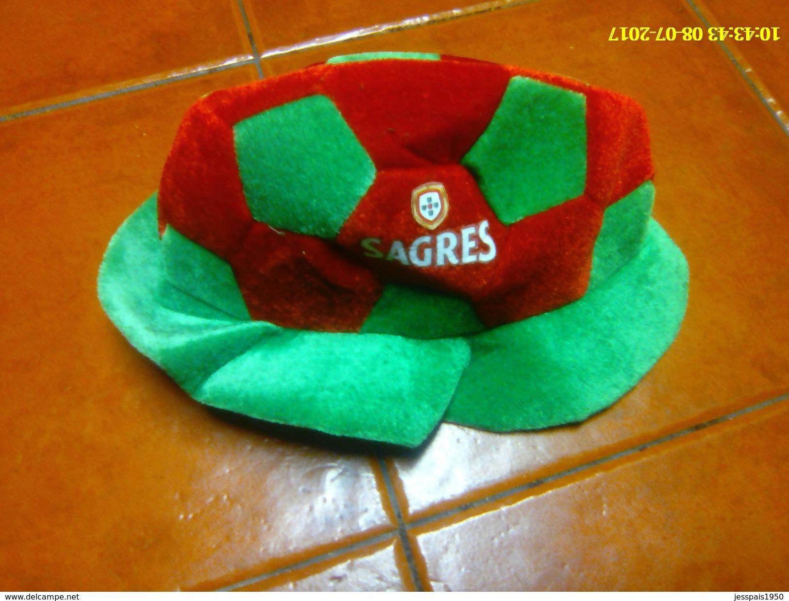 (5) - Chapeau Biére Sagres - Portugal - Casquettes & Bobs