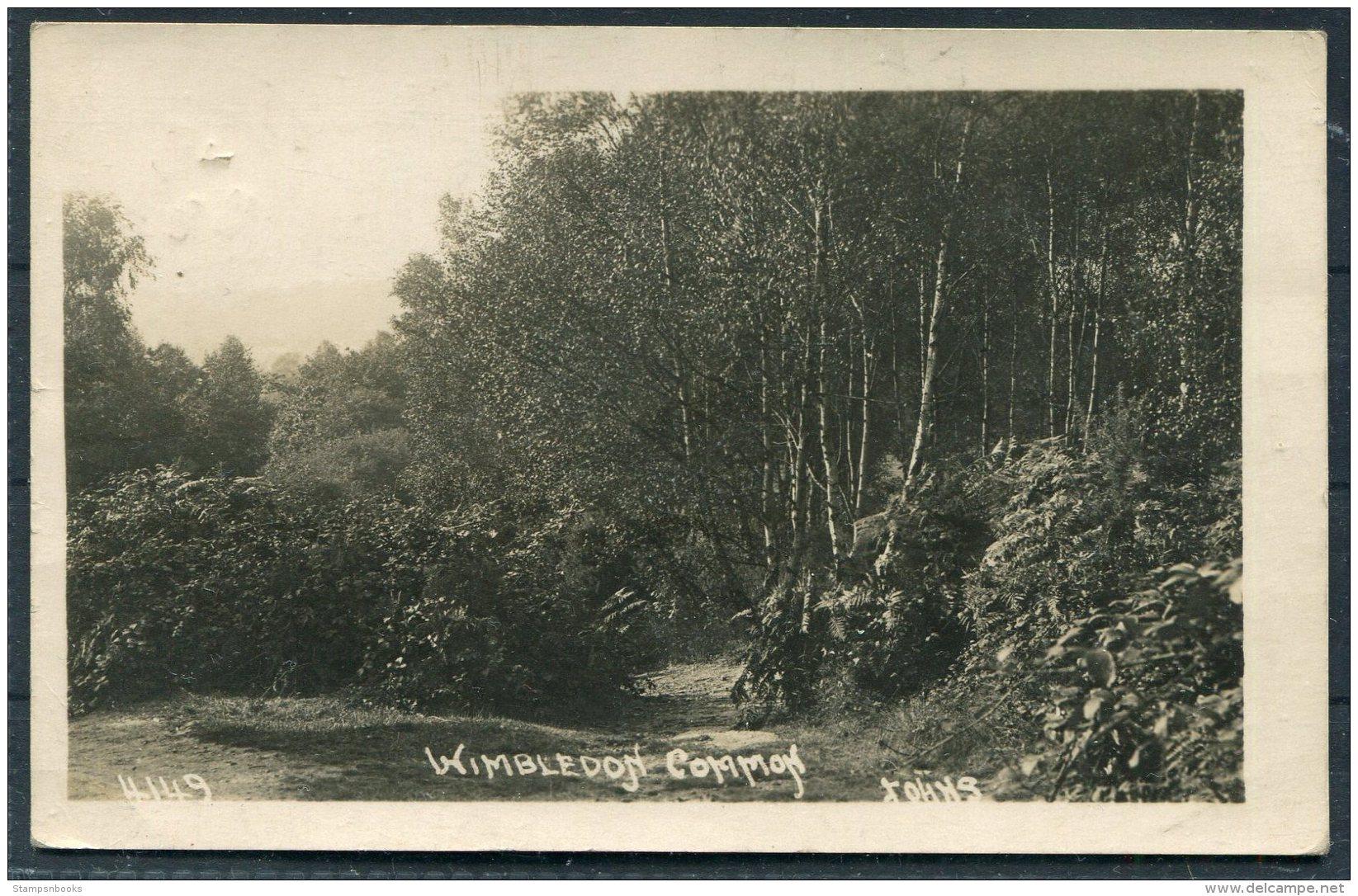 Wimbledon Common RP Postcard. - Surrey