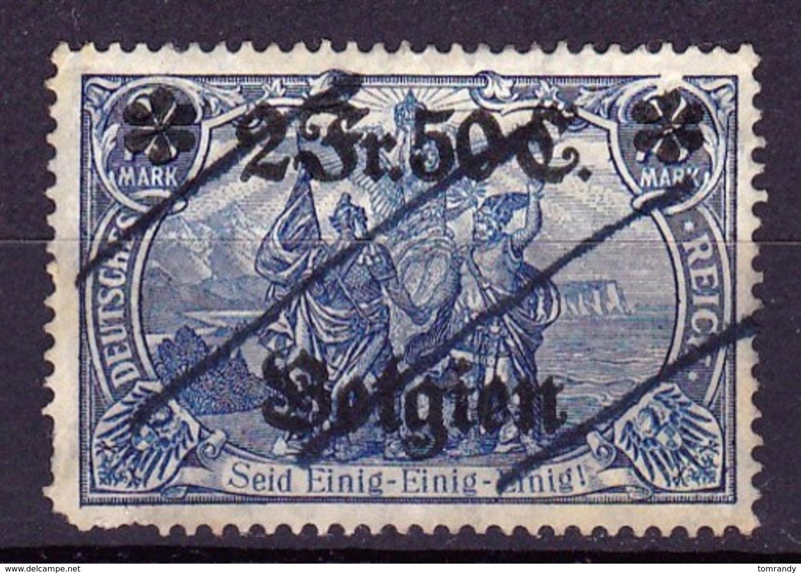 Deutsche Post In Belgien 1914 - Besetzungen 1914-18