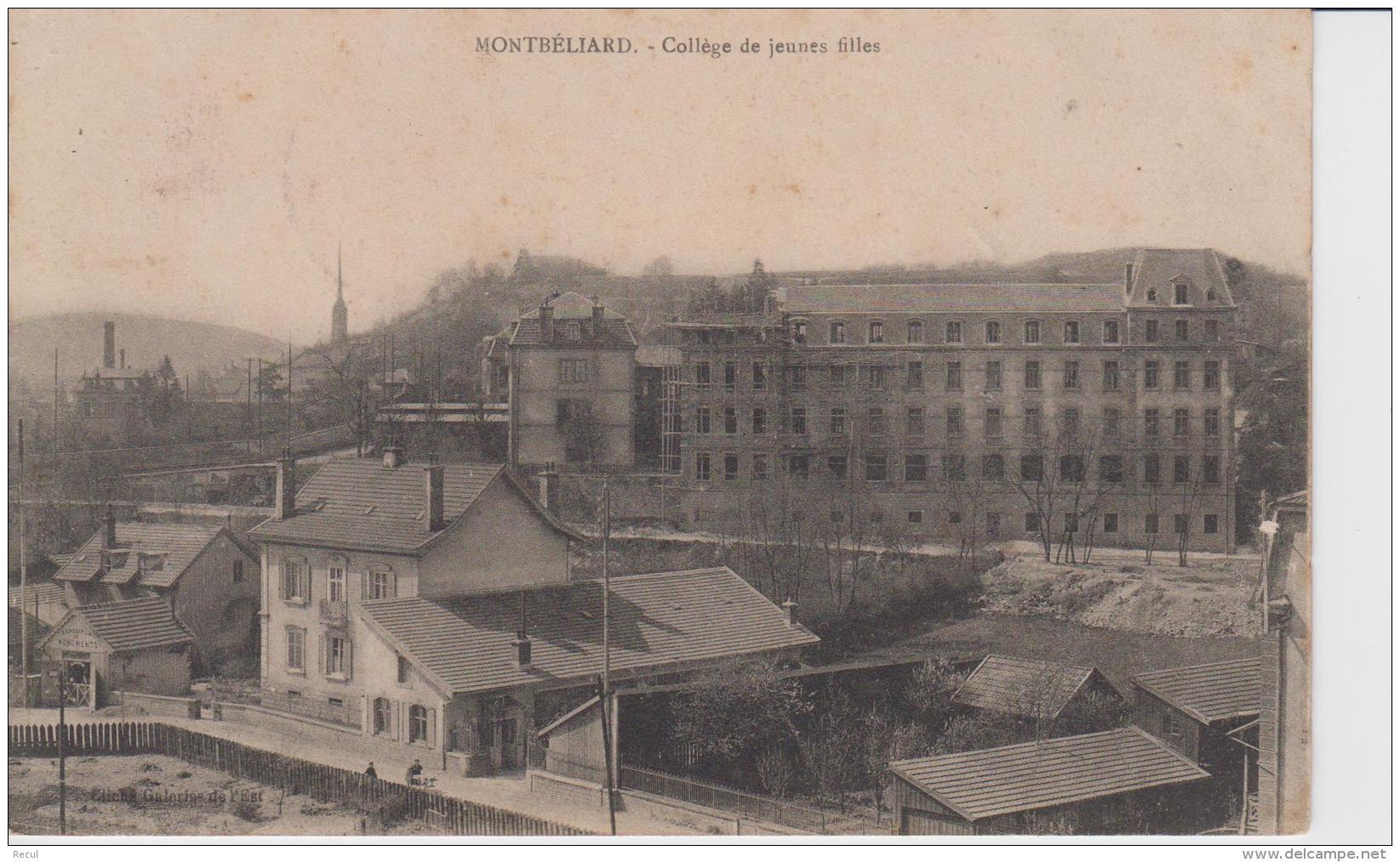 DOUBS - MONTBELIARD - Collège De Jeunes Filles - Montbéliard