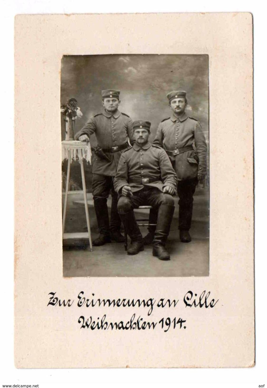 59-2539 LILLE Soldats Photo - Lille